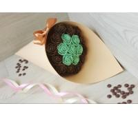 Букет из шоколадных роз Азалия 19шт (МГ)