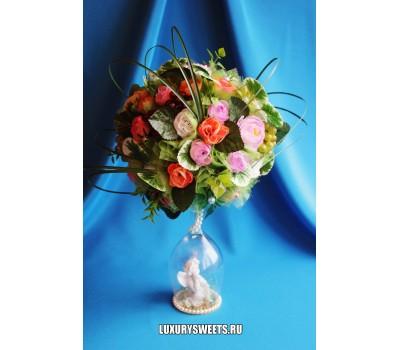 Топиарий из цветов Летний сад 2